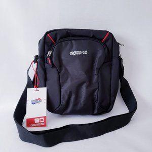 American Tourister Cross Body Bag – Black
